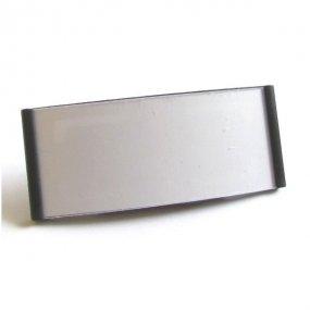 Magnetická jmenovka MGT 73 černá 79 x 31 mm 10ks