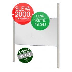 Keramická tabule EkoTAB Manažer + pylon jednoduchý AL