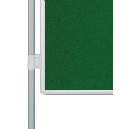 Oboustranná textilní tabule EkoTAB PARAVAN, zelená