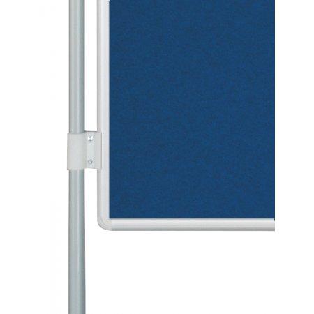 Oboustranná textilní tabule EkoTAB PARAVAN, modrá