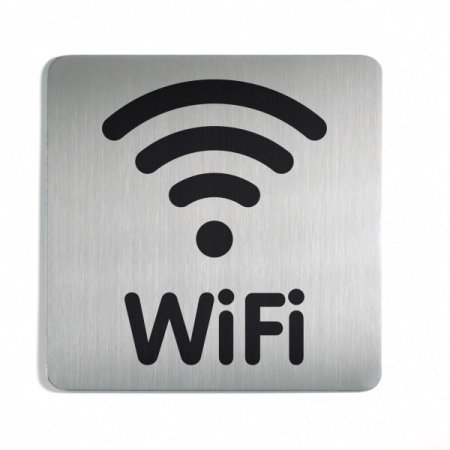 """Pictogram """"WiFi"""", čtvercový"""