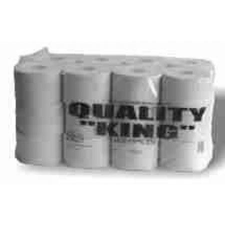 Toaletní papír dvouvrstvý Quality King 68m bílý