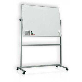 Pojízdná magnetická tabule RevoTECH 180x120cm