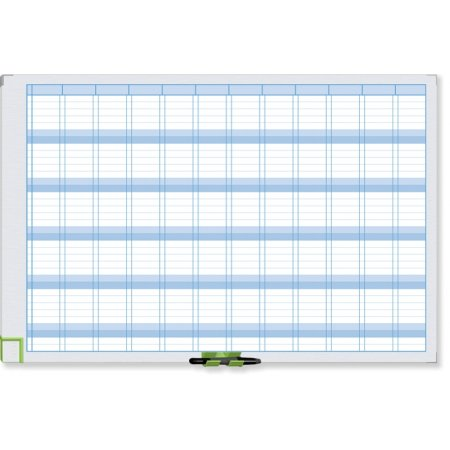 Plánovací tabule NOBO PERFORMANCE, roční, 90x60cm