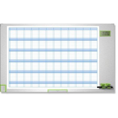 Plánovací tabule NOBO PERFORMANCE PLUS, roční, 100x60cm