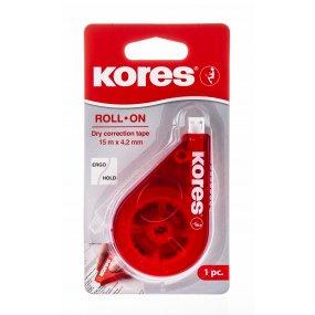 Korekční páska ROLL ON 8,5 m x 4,2 mm Kores
