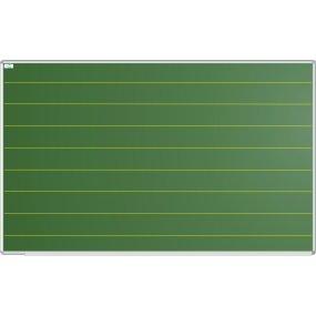 #389 Školní tabule keramická, popis křídou, linky 120mm, 150x100cm - DROBNÉ POŠKOZENÍ