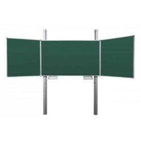 Tabule TRIPTYCH Fine ZZZZZ + pylon jednoduchý 290cm