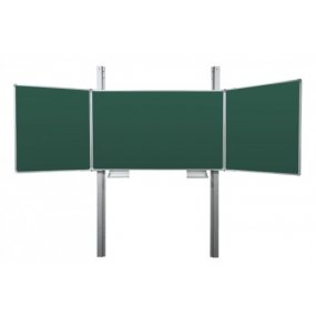 Tabule TRIPTYCH Fine BZZZB + pylon jednoduchý 290cm