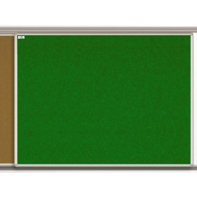 Textilní tabule EkoTAB pro lištový systém, zelená