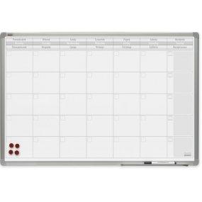 Plánovací tabule PlanTECH, měsíční, 90x60cm