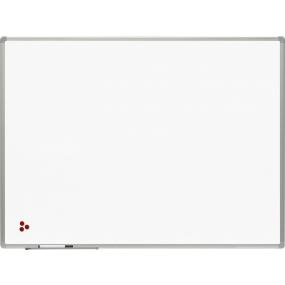Keramická tabule BusinessTECH, hliníkový rám, 120x90cm drobné poškození