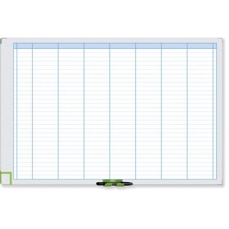 Plánovací tabule NOBO PERFORMANCE, týdenní, 90x60cm