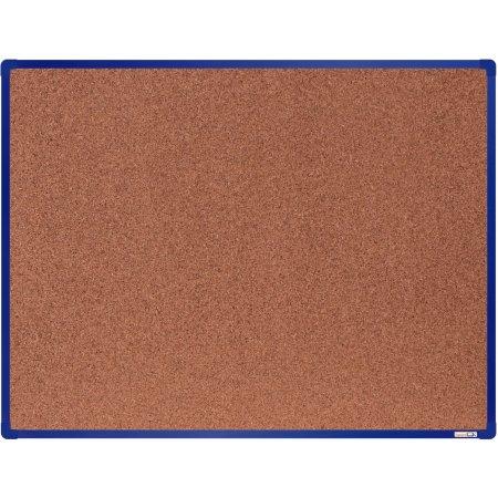 Korková tabule boardOK, modrý rám