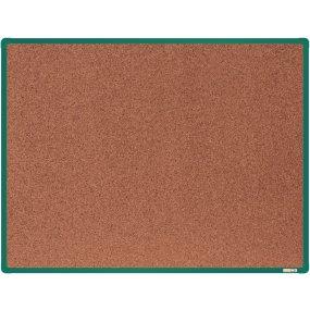 Korková tabule boardOK, zelený rám