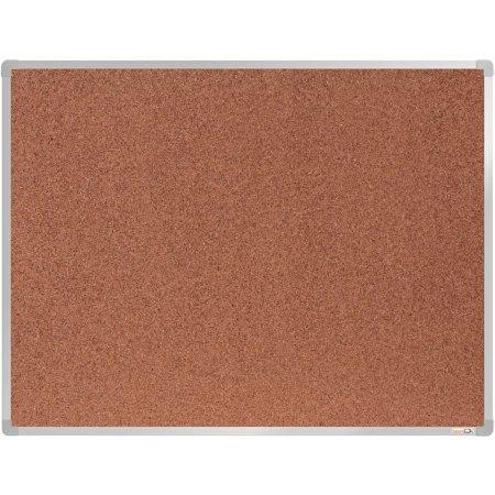 Korková tabule boardOK, stříbrný rám