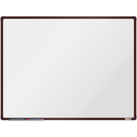 Magnetická tabule boardOK, hnědý rám