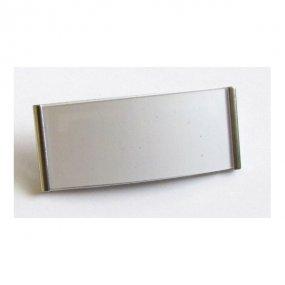 Magnetická jmenovka MGT 73 stříbrná 79x31mm ( 10ks )